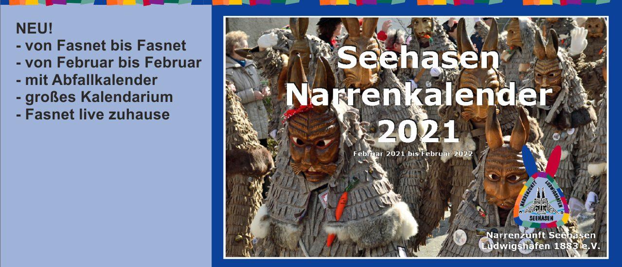 Narrenkalender 2021